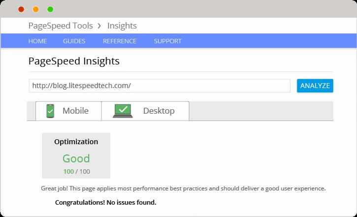 WordPress Optimized